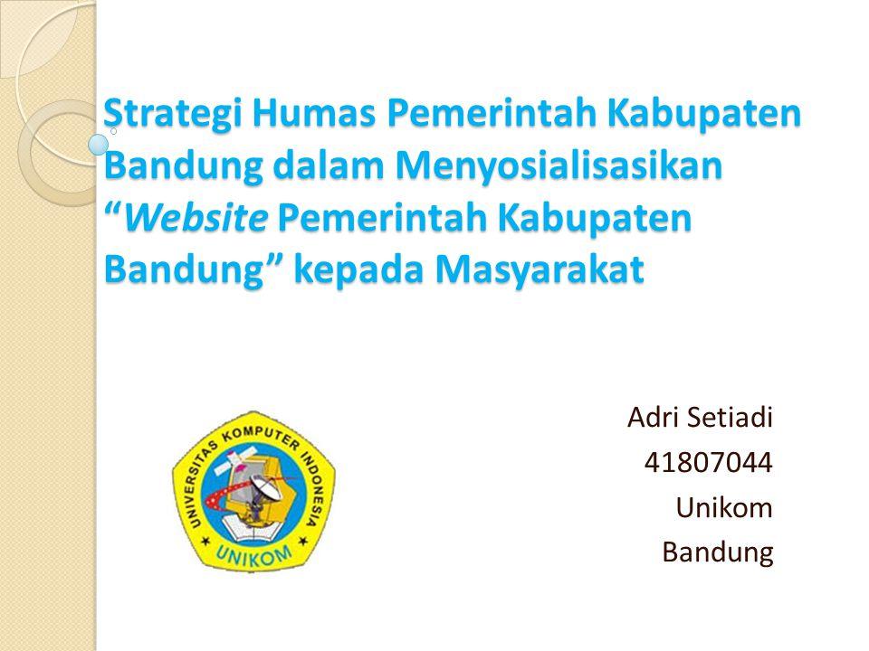 Adri Setiadi 41807044 Unikom Bandung