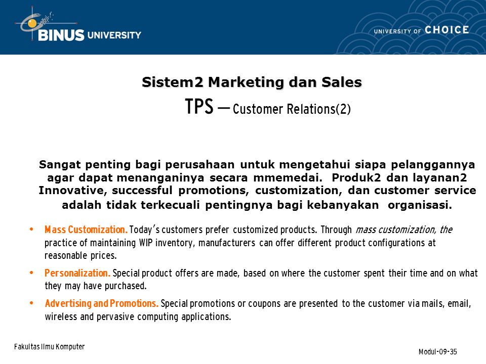 TPS – Customer Relations(2)