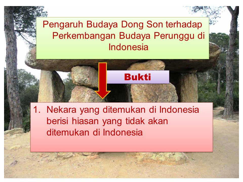 Pengaruh Budaya Dong Son terhadap Perkembangan Budaya Perunggu di Indonesia