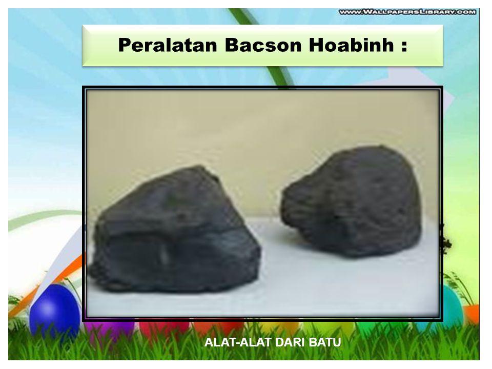 Peralatan Bacson Hoabinh :