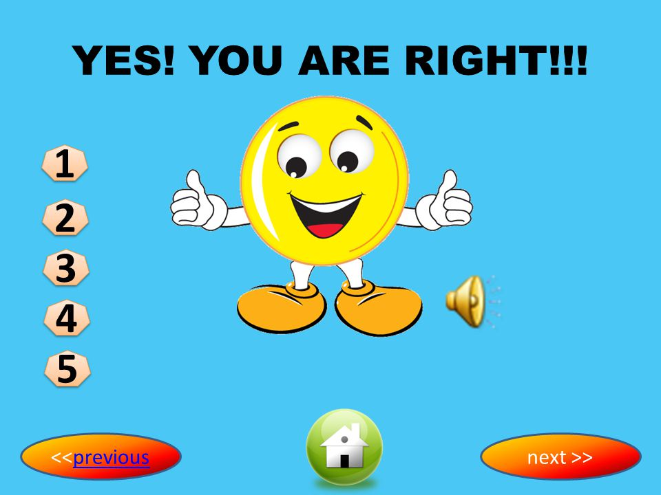 YES! YOU ARE RIGHT!!! 1 2 3 4 5 <<previous next >>