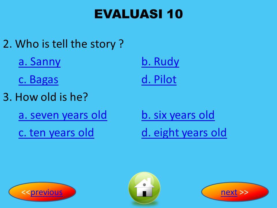 EVALUASI 10