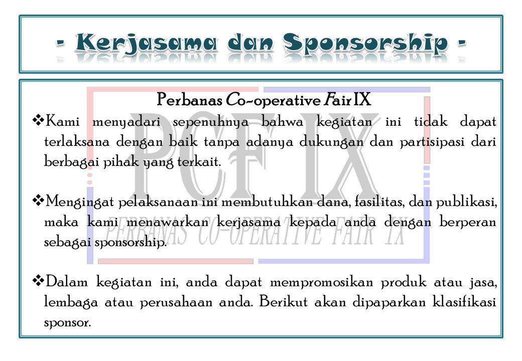 - Kerjasama dan Sponsorship -