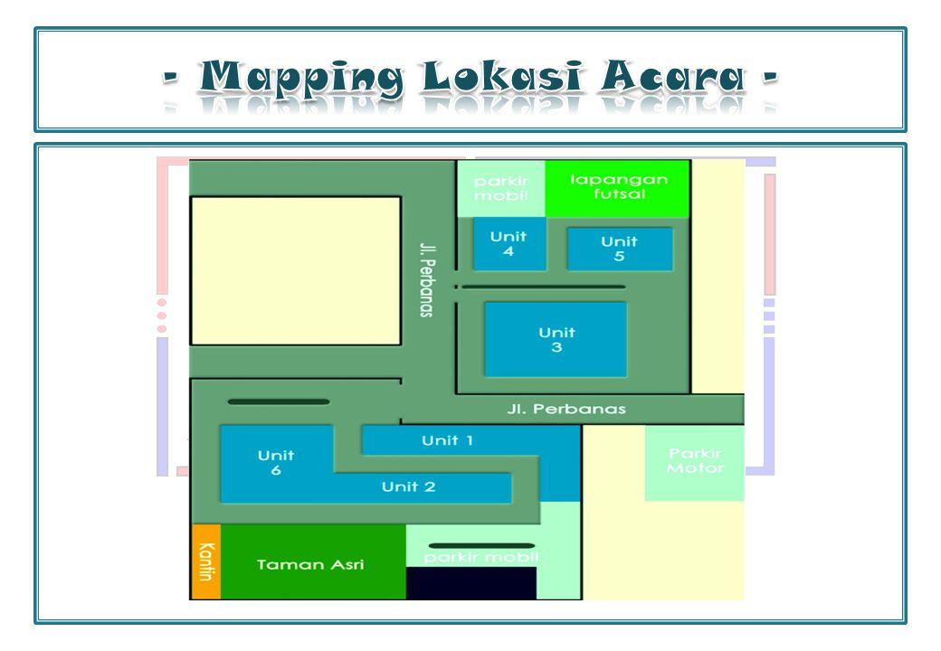 - Mapping Lokasi Acara -
