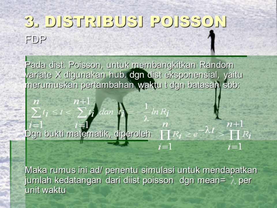 3. DISTRIBUSI POISSON FDP