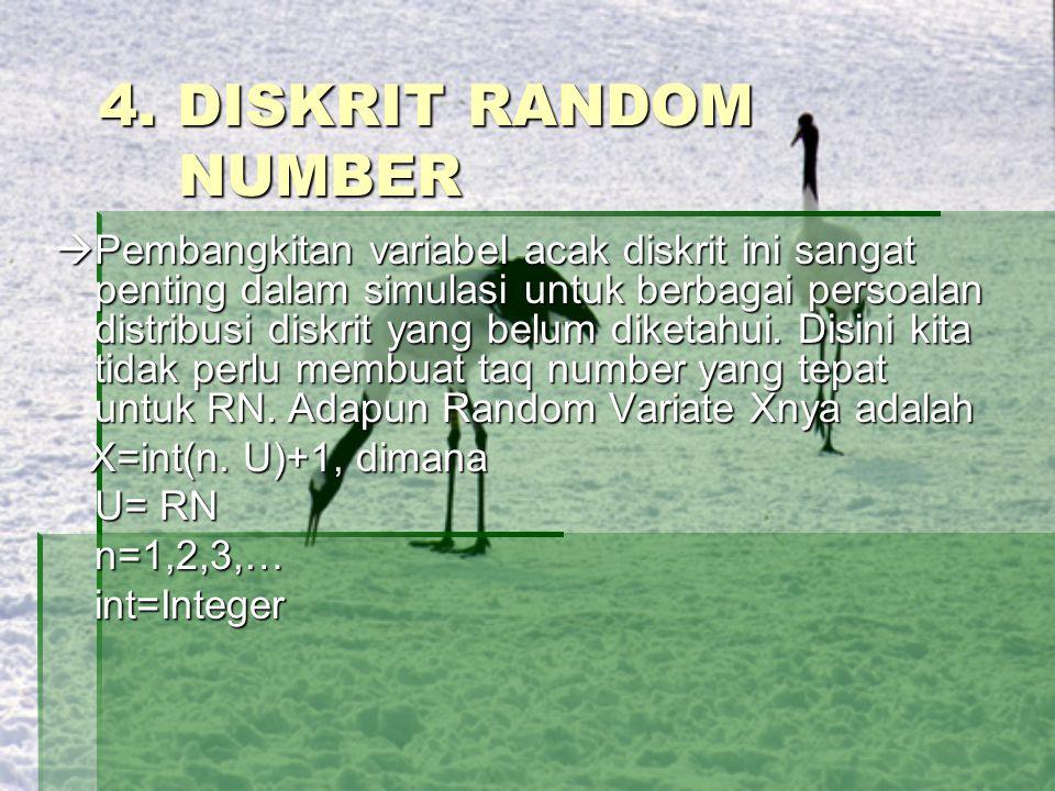 4. DISKRIT RANDOM NUMBER