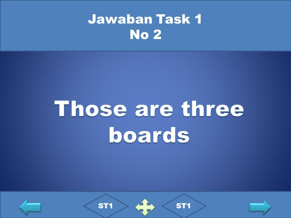 Jawaban Task 1 No 2 Those are three boards ST1 ST1