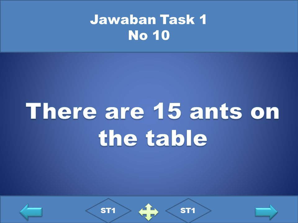 There are 15 ants on the table