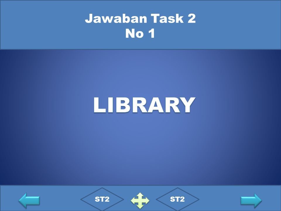 Jawaban Task 2 No 1 LIBRARY ST2 ST2