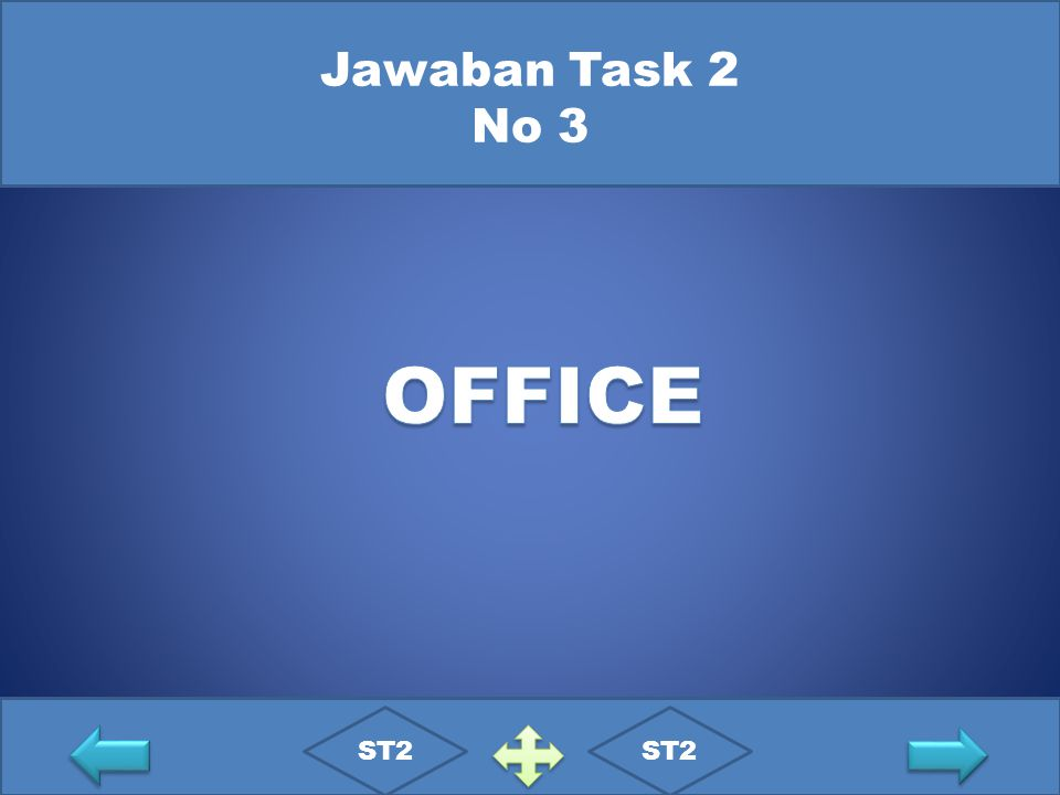Jawaban Task 2 No 3 OFFICE ST2 ST2