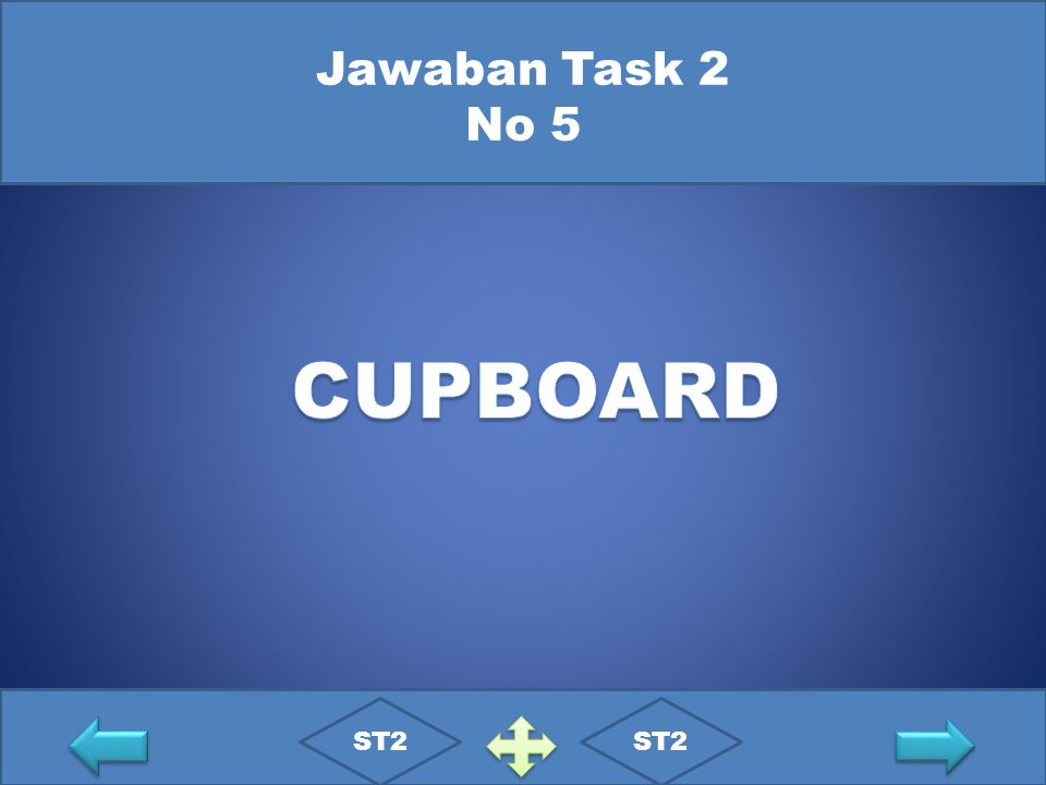 Jawaban Task 2 No 5 CUPBOARD ST2 ST2