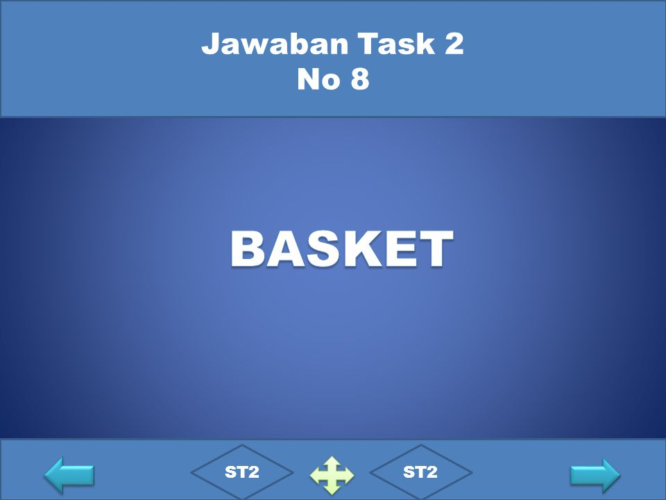 Jawaban Task 2 No 8 BASKET ST2 ST2