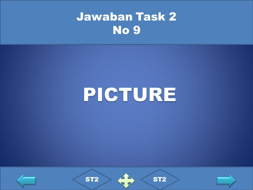 Jawaban Task 2 No 9 PICTURE ST2 ST2