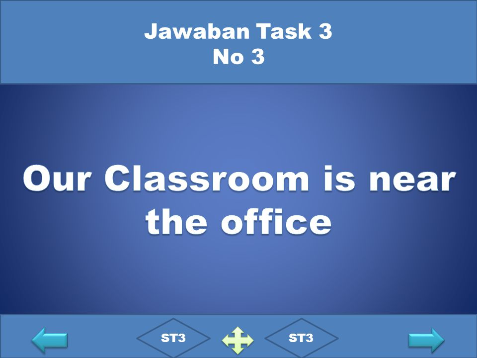 Our Classroom is near the office