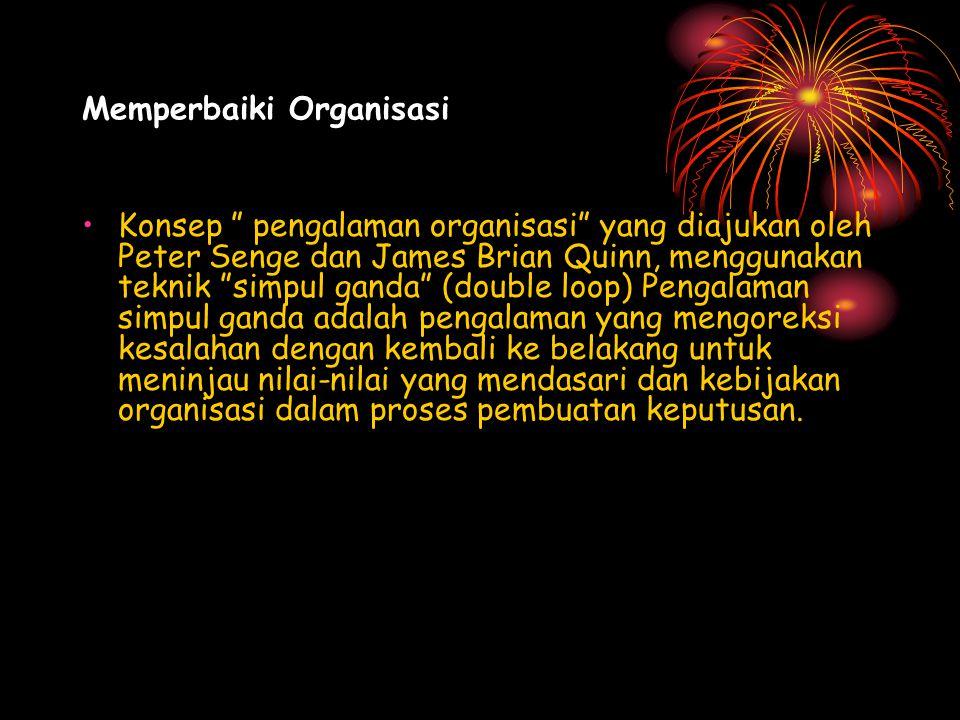 Memperbaiki Organisasi