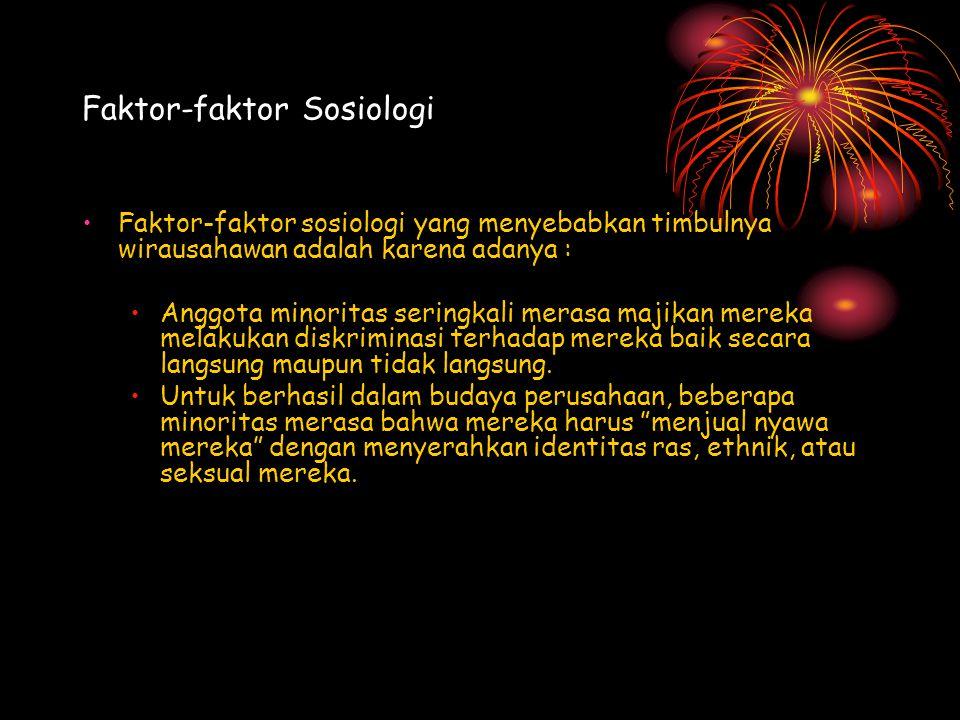 Faktor-faktor Sosiologi