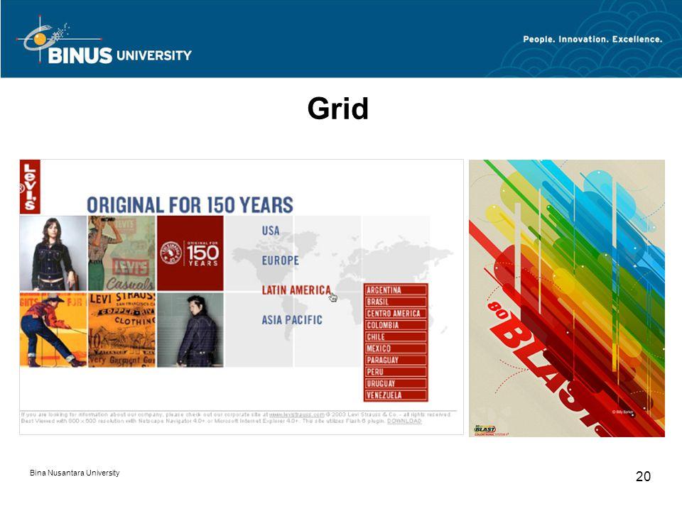 Grid Bina Nusantara University
