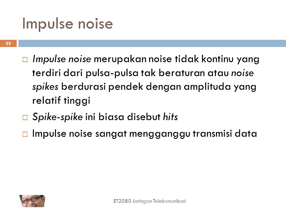 Impulse noise