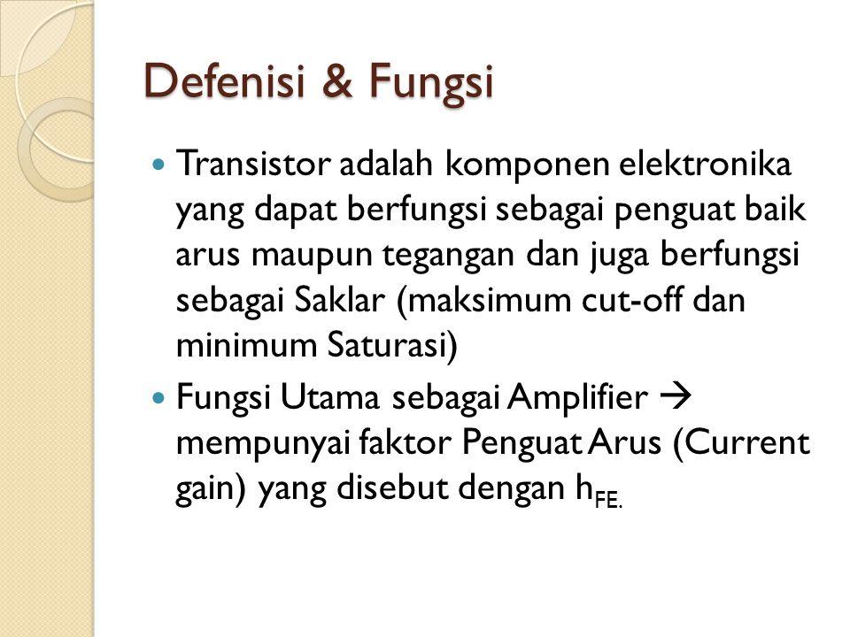 Defenisi & Fungsi
