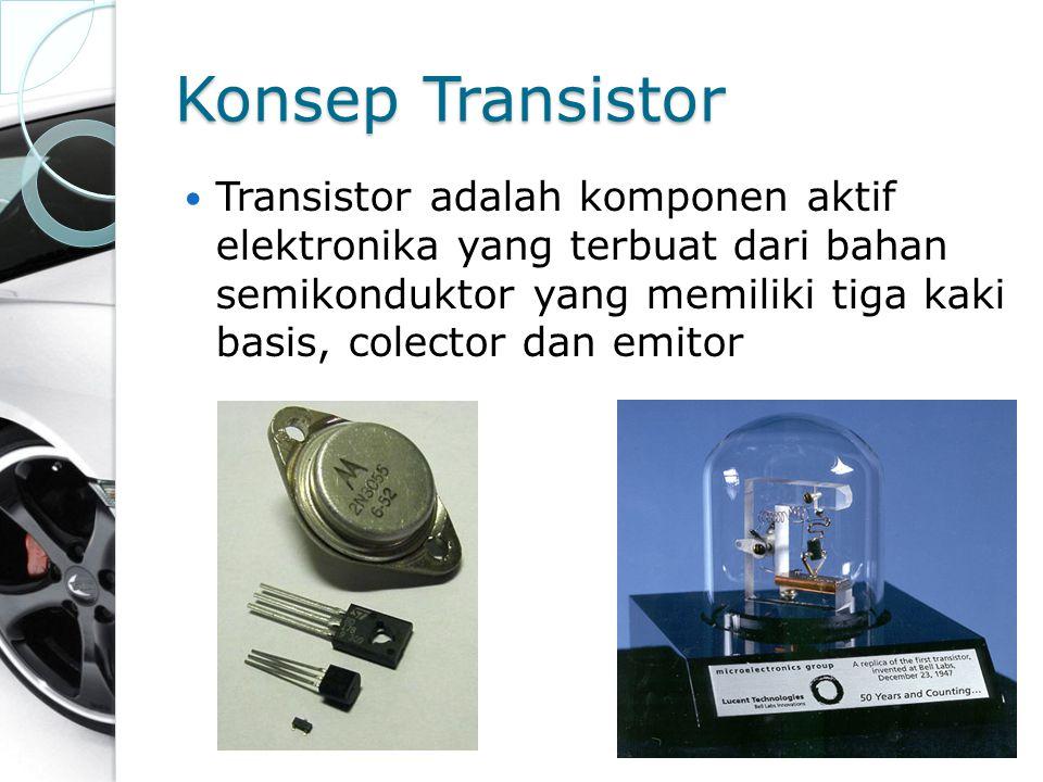Konsep Transistor