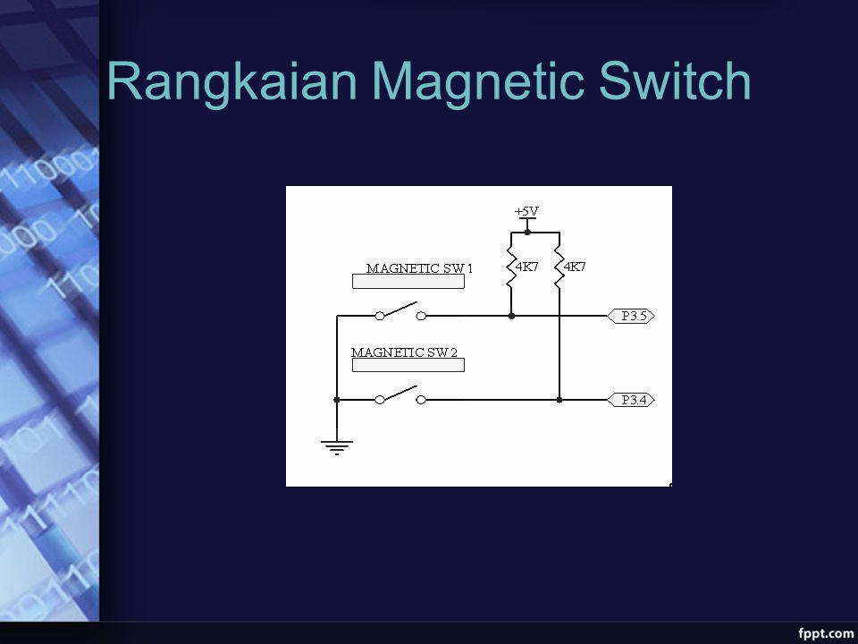 Rangkaian Magnetic Switch