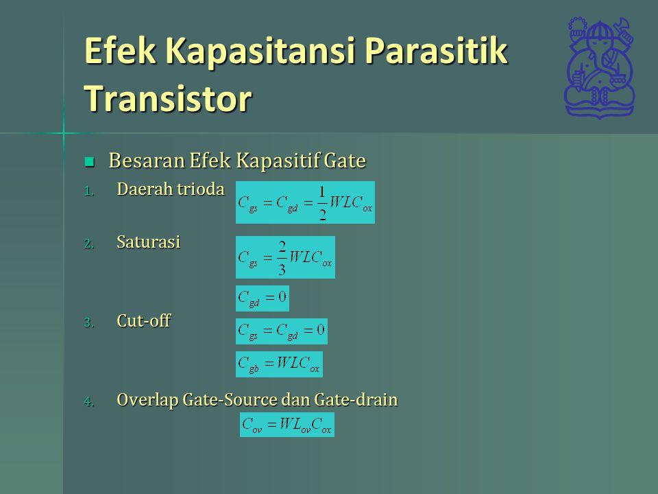 Efek Kapasitansi Parasitik Transistor
