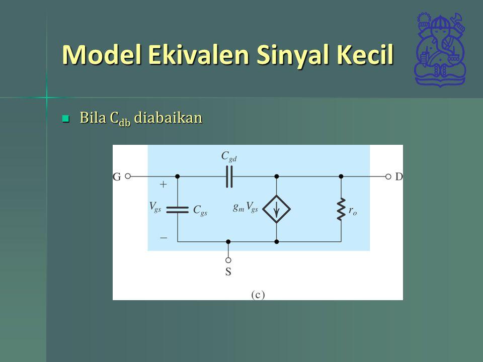 Model Ekivalen Sinyal Kecil