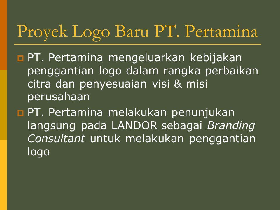 Proyek Logo Baru PT. Pertamina