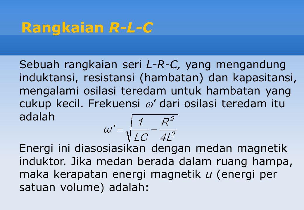 Rangkaian R-L-C