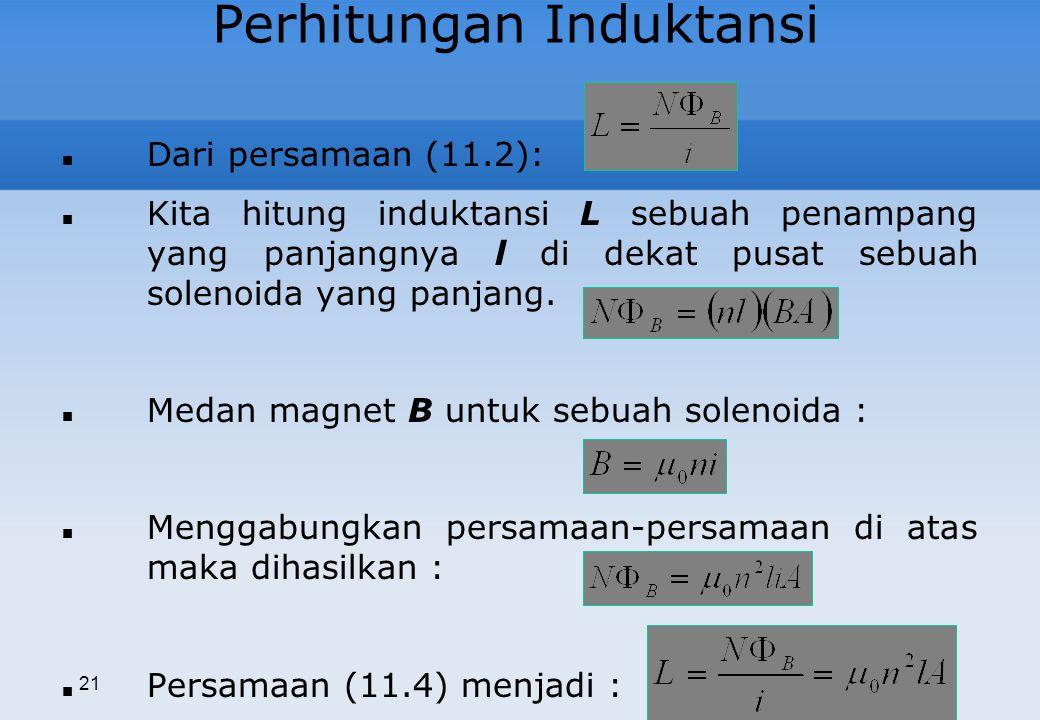 Perhitungan Induktansi