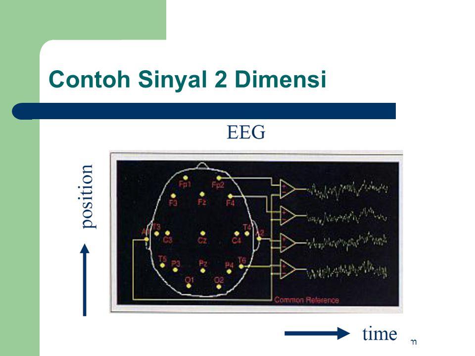 Contoh Sinyal 2 Dimensi http://masnasir.com