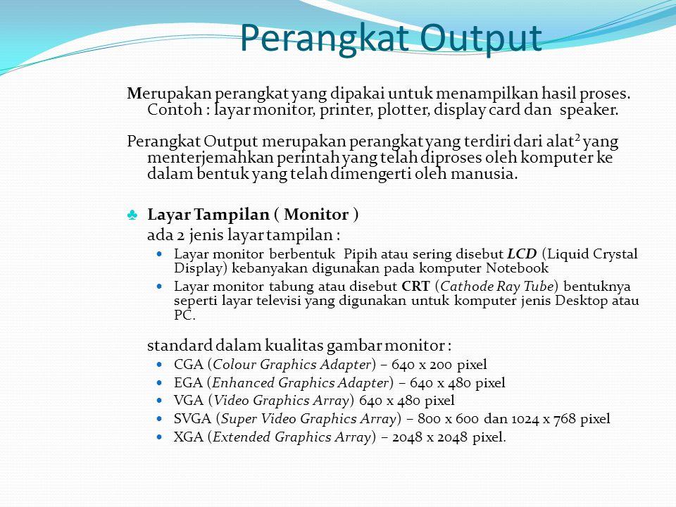 Perangkat Output