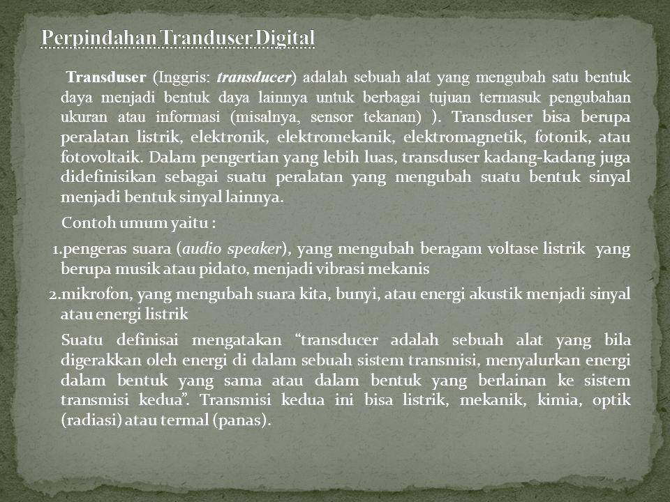 Perpindahan Tranduser Digital