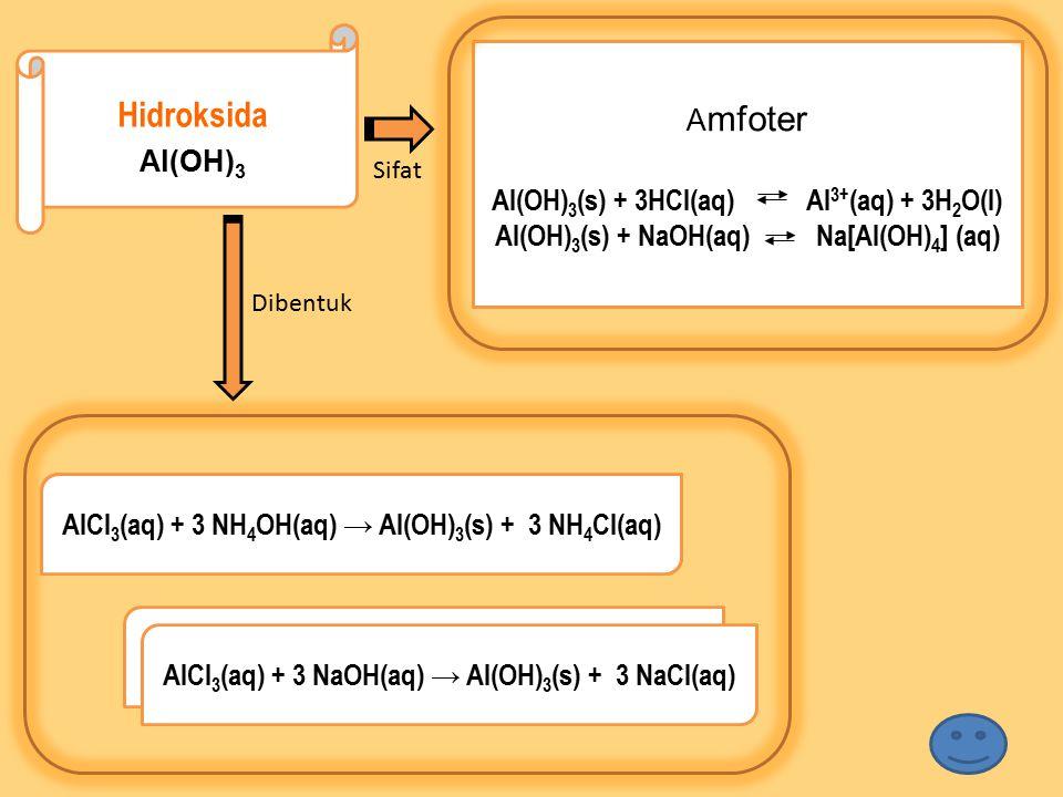 Hidroksida Amfoter Al(OH)3