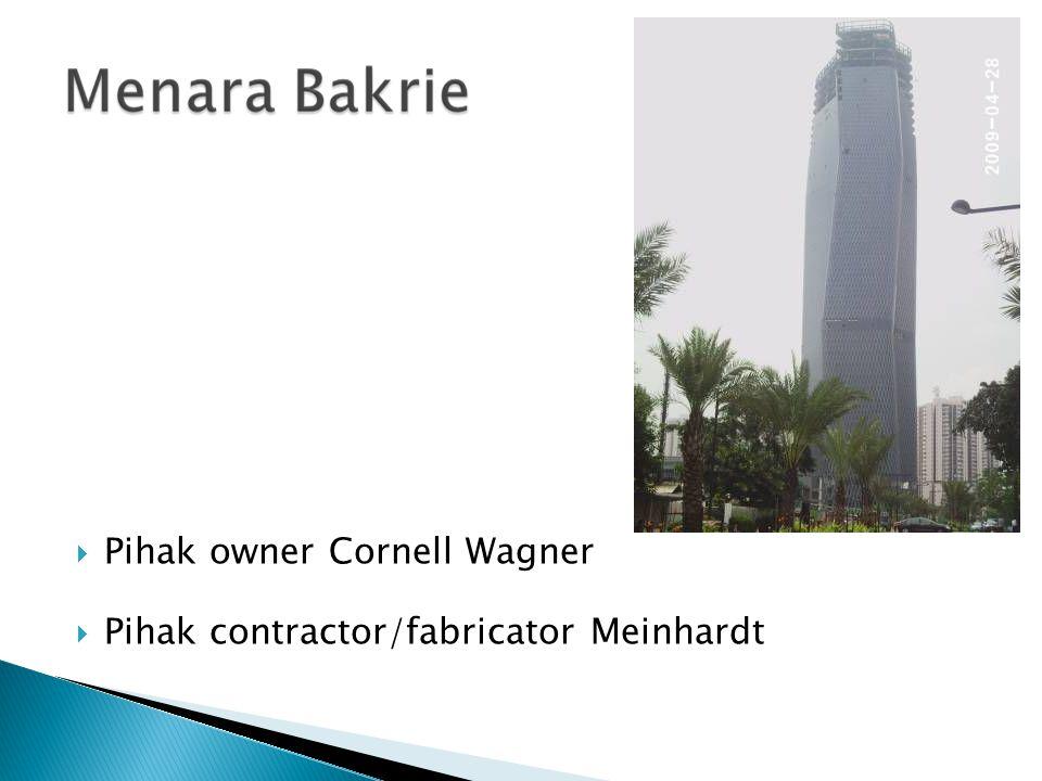 Pihak owner Cornell Wagner