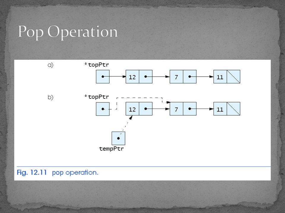 Pop Operation