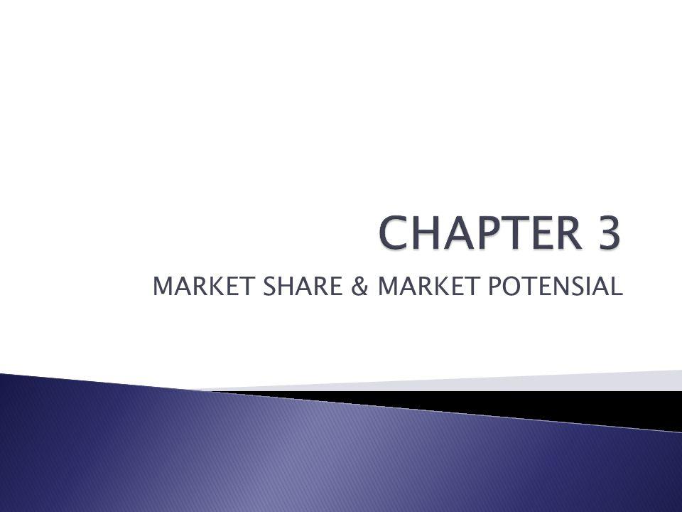 MARKET SHARE & MARKET POTENSIAL