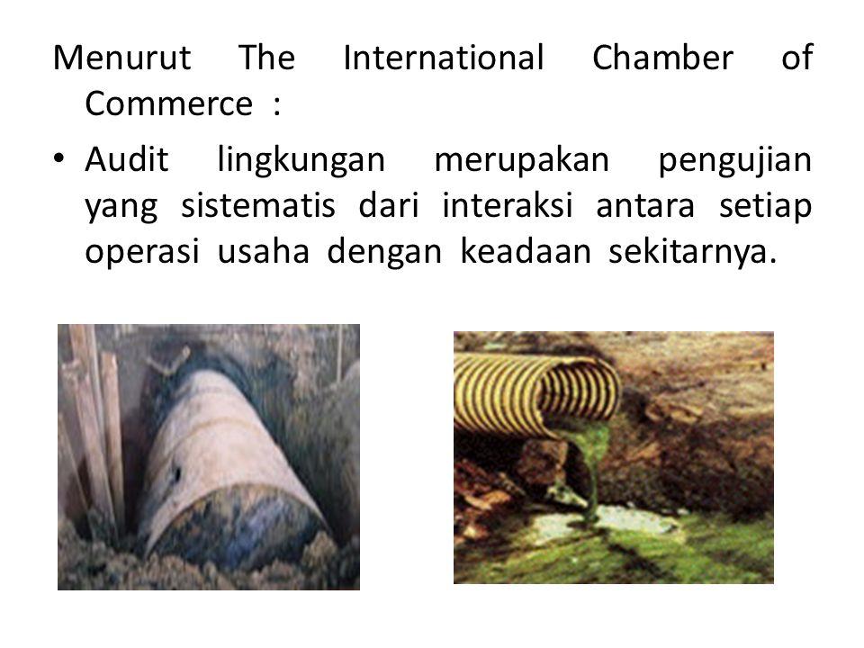Menurut The International Chamber of Commerce :