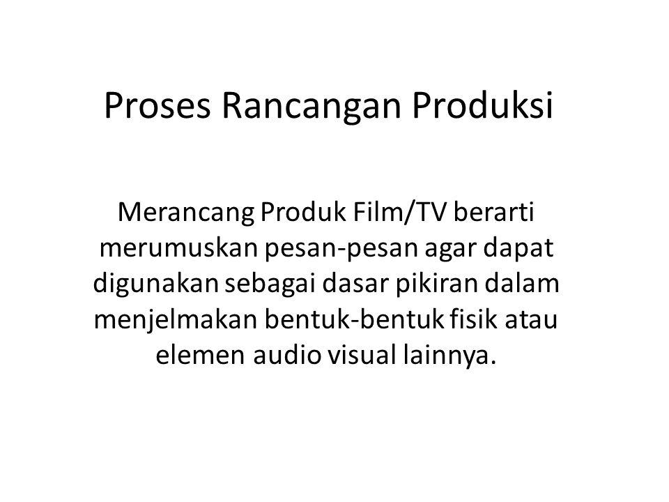 Proses Rancangan Produksi