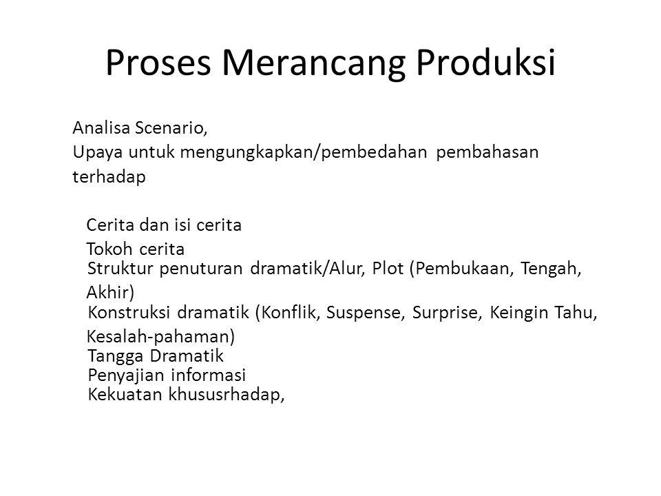 Proses Merancang Produksi