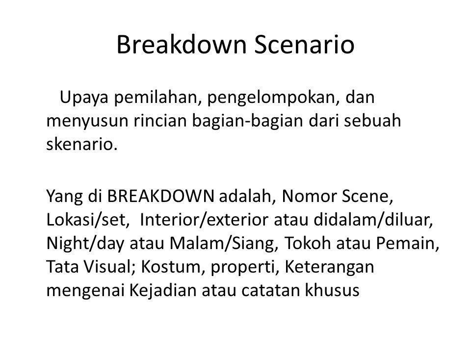 Breakdown Scenario