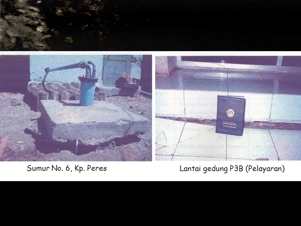 Sumur No. 6, Kp. Peres Lantai gedung P3B (Pelayaran)