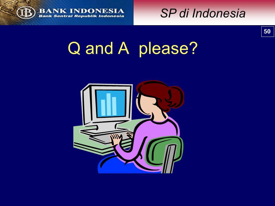 SP di Indonesia 50 50 Q and A please