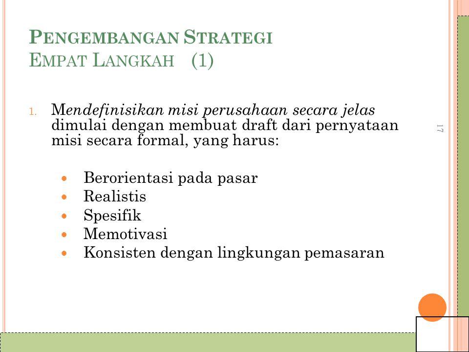 Pengembangan Strategi Empat Langkah (1)