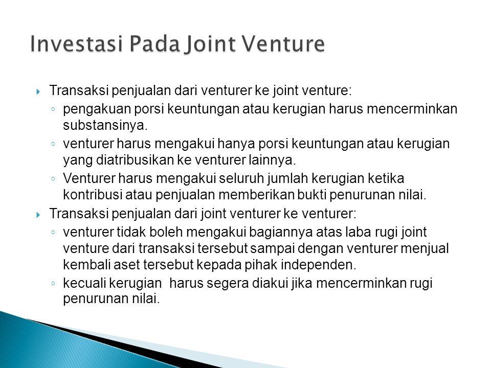 Investasi Pada Joint Venture