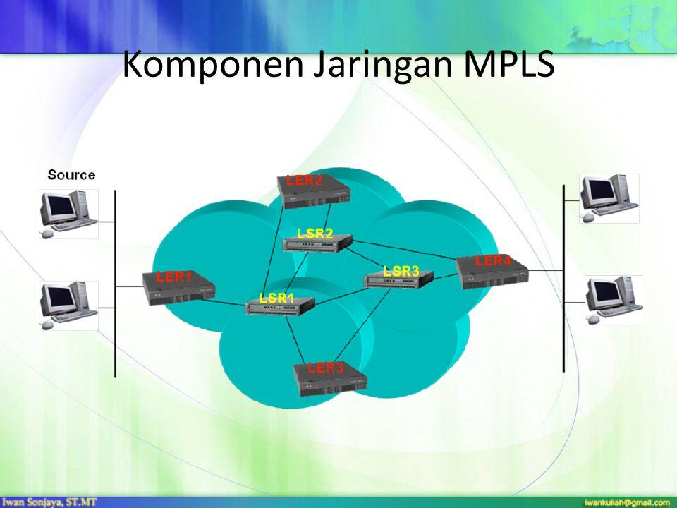 Komponen Jaringan MPLS