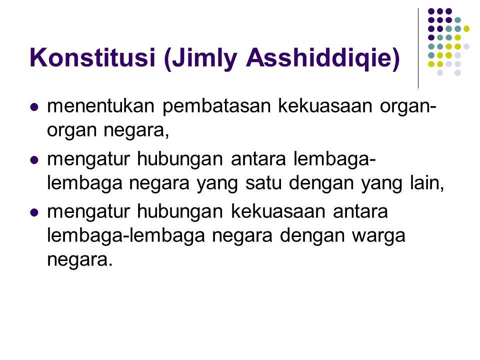 Konstitusi (Jimly Asshiddiqie)