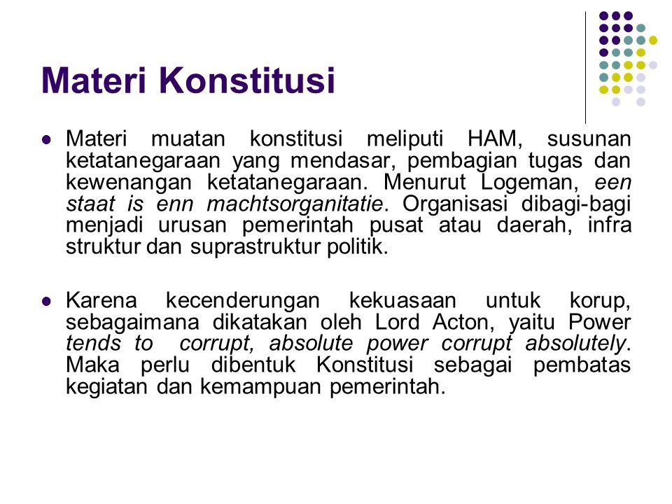 Materi Konstitusi