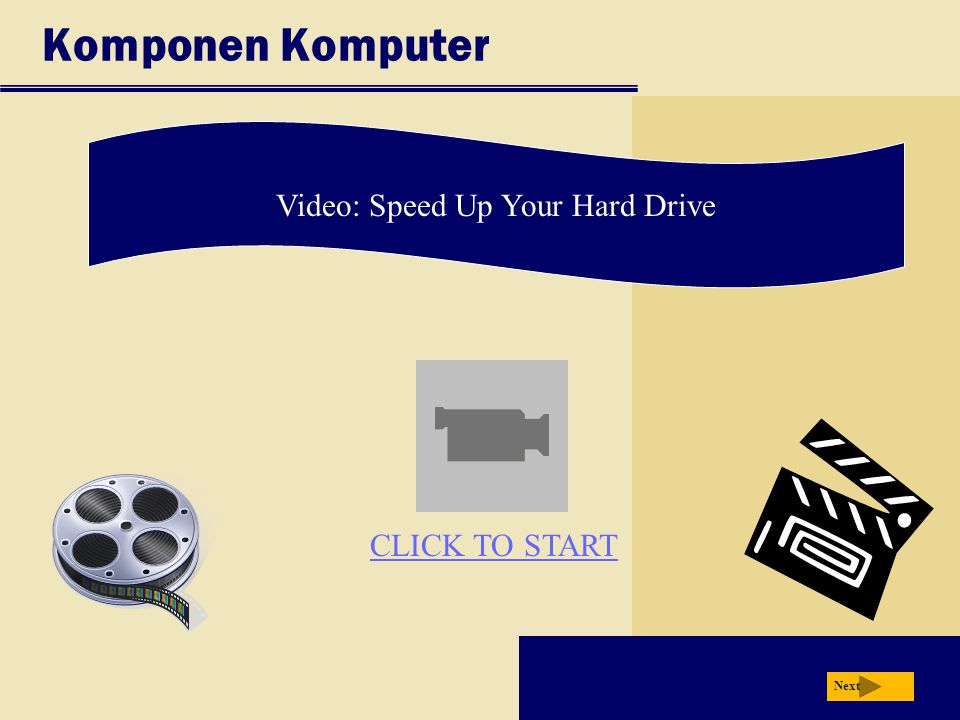Video: Speed Up Your Hard Drive
