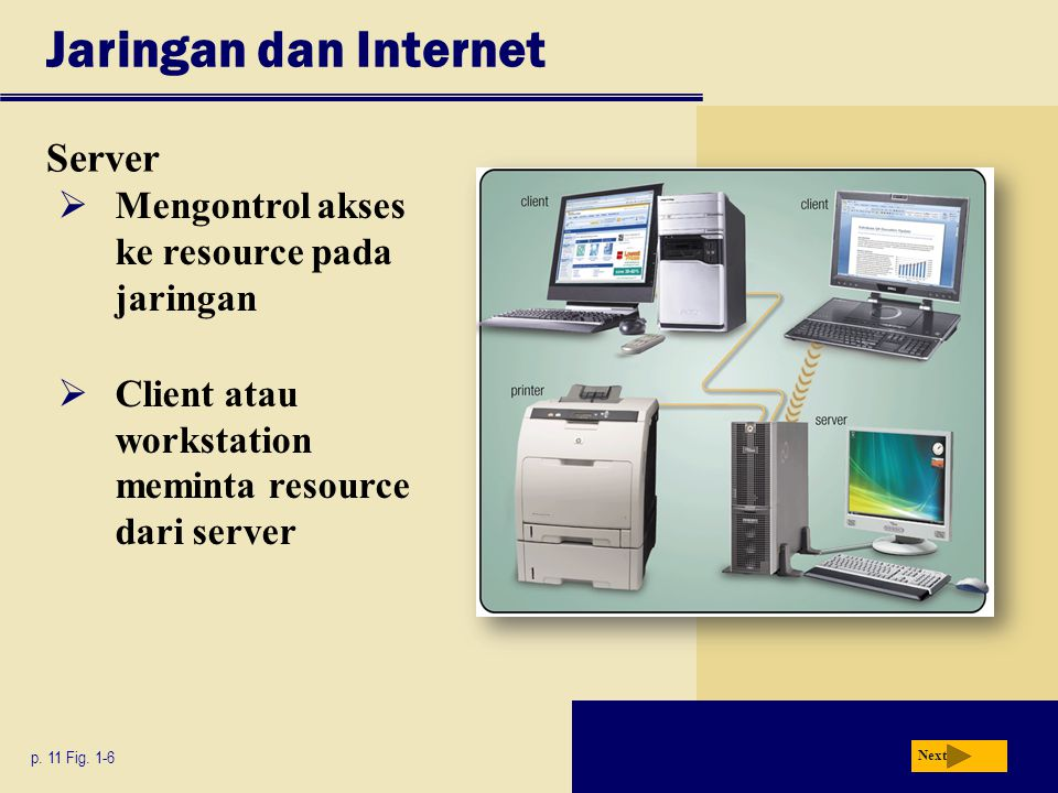 Jaringan dan Internet Server